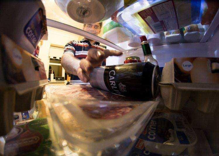 in your fridge