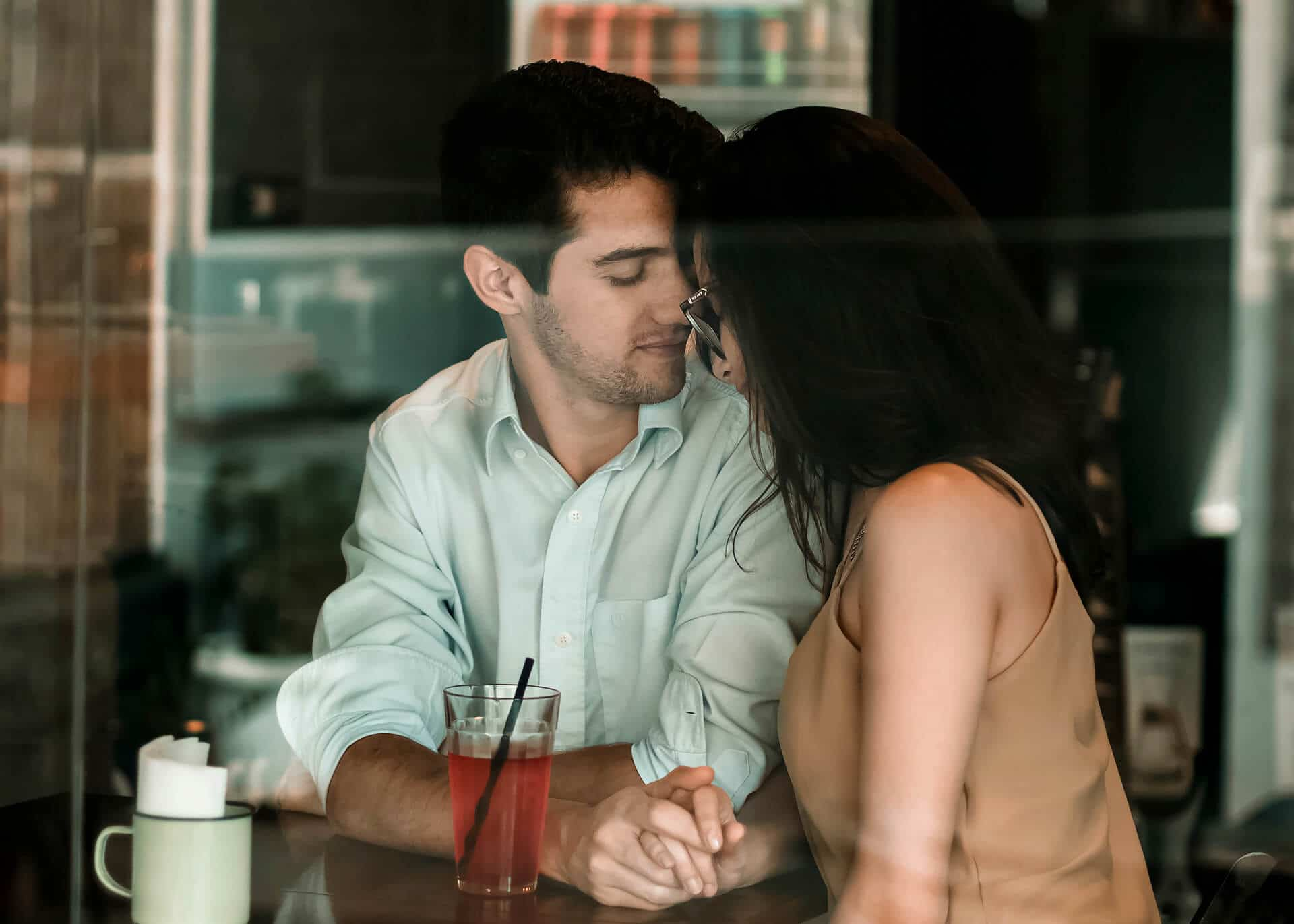 Man showing signs he loves you deeply