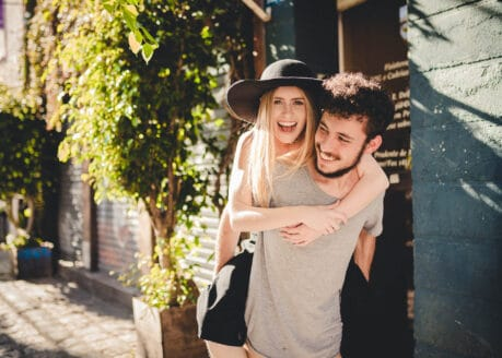 Couple with true soul connection