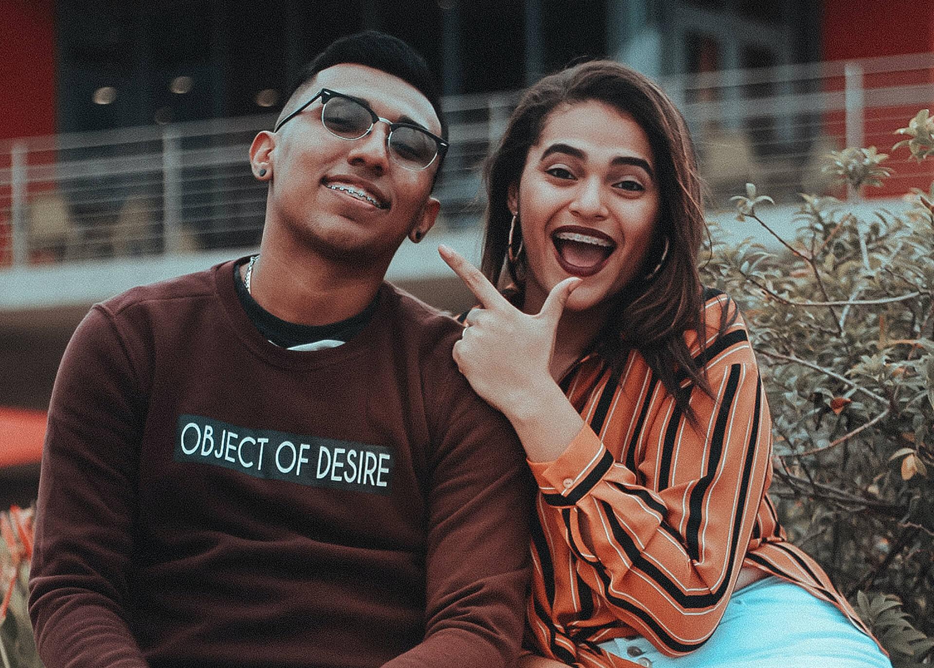 cheeky couple
