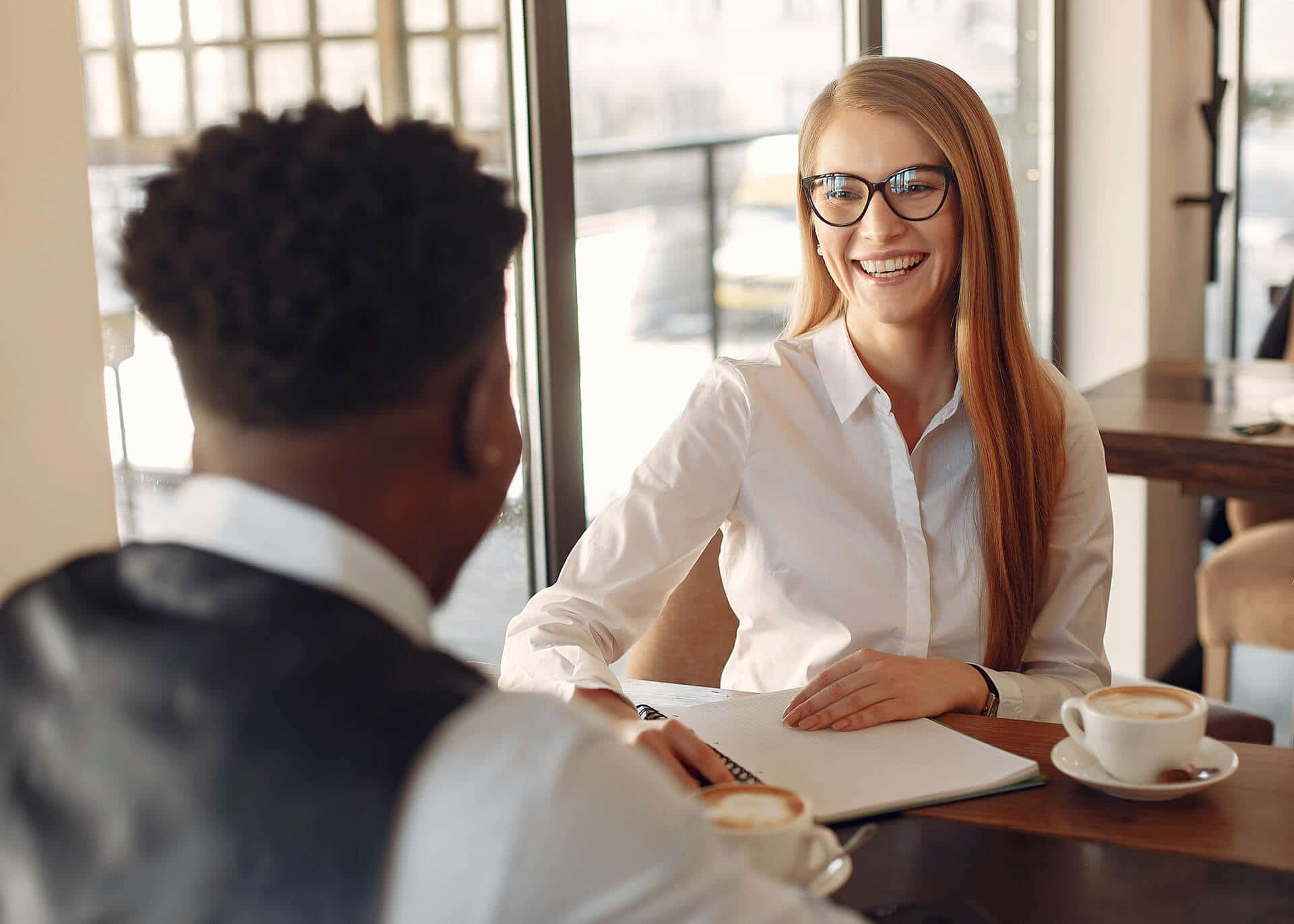signs a female coworker likes you